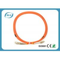 Buy cheap Telecommunication Level Fiber Optic Patch Cord With 2.0mm LC Fiber Connector from Wholesalers