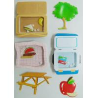 Buy cheap 3D apple / desk Shaker Sticker Custom Logo For Wall hand made ait from Wholesalers