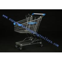 Buy cheap Non Collapsible Steel Material Retail Shopping Trolley For Market 100L from Wholesalers