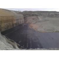 Quality 2.00mm Waterproof HDPE Geomembrane Liner Black For Mining Liners wholesale