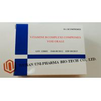 Quality Vitamine B Complexe Comprimes Medicine Tablet For Adults Water Soluble Function wholesale
