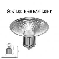Buy cheap AC100-277V 80W IP65 5 Years Warranty Aluminum LED High Bay Light Pure White from Wholesalers