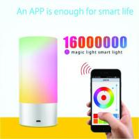 Buy cheap USB Chargeable  bluetooth control portable smart led light from wholesalers
