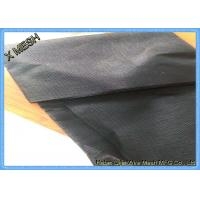 Buy cheap 15*10mesh Black Color high strength pet screen 32%Polyester, 68%PVC from wholesalers