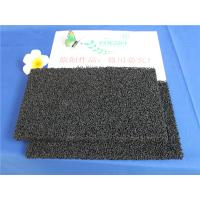 China 10 - 60 ppi PU Polyurethane Activated Carbon Air Filter Sponge For Ordor Gas on sale