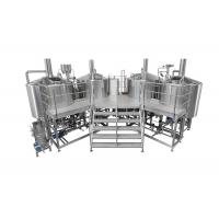 Buy cheap 3500L Electric Heating 4 Vessel Brewhouse With Dimple Plate Jacket For Fermentation System from wholesalers