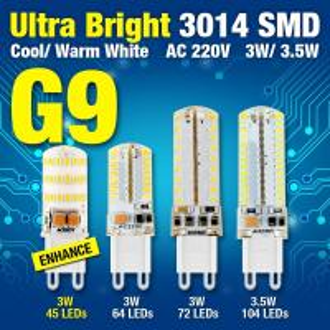 3014 SMD AC 220V 3W 3.5W Chandelier Led Bulb Lighting G9 Efficient LED Corn Bulb Light