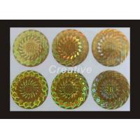Buy cheap Eco Friendly Tamper Evident Company Logo Printing Hologram Stickers from wholesalers