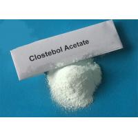 Buy cheap 99% Purity Raw Clostebol Acetate Turinabol Steroids Powder CAS 855-19-6 For Sale China Manufacturer Wholesale Cheap from wholesalers