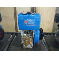 Buy cheap Electric Starter Single Cylinder Diesel Engine , Small Air Cooled Engines from wholesalers