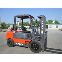 China Commercial Indoor LPG Gasoline Forklift Truck 4 Ton With Various Attachments on sale