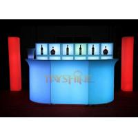 Buy cheap Blue Bar Counter Led Glow Furniture And Sofa For Club , CE ROHS FCC Certificates from Wholesalers