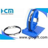 Quality Fashional customised bracelets silicone wristbands with metal clasp wholesale