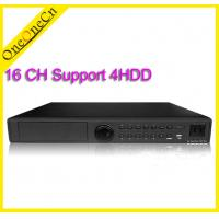 Buy cheap 16CH Stand Alone Real Time Audio Network Video Recorders Hybrid DVR + NVR from wholesalers