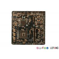 China Four Layers OSP Black PCB Board  , Main PCB Board  For Security Monitor Device on sale