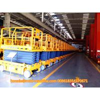 Buy cheap Yellow Telescopic Boom Crane / XCMG electric Scissor Aerial Work Platform 10m GTJZ10 from wholesalers
