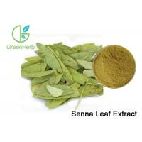 Buy cheap Herbal Medicine Plant Extract Powder 8% Sennoside Senna Leaf Extract from Wholesalers