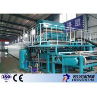 China PLC Control Paper Egg Crate Making Machine With Automatic Computer Software on sale