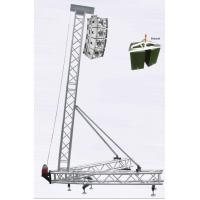 Buy cheap 8-10M Aluminum Stage Truss Line Array Speaker Truss , Vice Tube 50x2mm from Wholesalers
