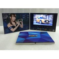 "Quality 2017Artificial Style and Paper Material video display brochure 7"" LCD Screen electronic video brochure for game wholesale"