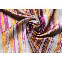Dresses Striped Jacquard Woven Fabric High End Organza Purple