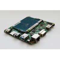 Quality Fanless Intel Cherry Trail Mini PC Board With WIFI And RJ45 Lan Port Supports Dual-display wholesale