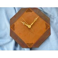 China Digital LCD Leather Clock with ODM colorful design on sale