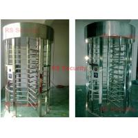 Buy cheap Electronic Full Height Security Turnstiles 120 Degree Rotation Control Pedestian from Wholesalers