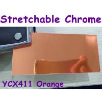 Buy cheap Stretchable Chrome Mirror Car Wrapping Vinyl Film - Chrome Orange from wholesalers