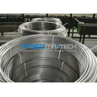 Buy cheap Chemical Injection Seamless ASTM A269 Stainless Steel Tubing Line / Seamless Coiled Tubing from Wholesalers