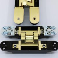 Buy cheap Satin Brass Invisible Hinges from Wholesalers
