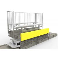 Moudular Aluminum Grandstands Bench With Available Aluminum Backrest