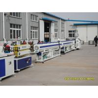 Buy cheap LDPE Rigid HDPE Conduit Plastic Pipe Production Line For Sweage from Wholesalers