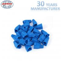 Buy cheap Grey Blue Rj45 Keystone Jack Rj45 Plug Boot Female Diameter 5.5mm 6.0mm from wholesalers