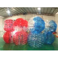 Buy cheap Red Clear Human Inflatable Bumper Ball For Adults / Human Water Bubble Ball from wholesalers