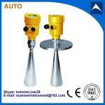 Quality liquid water tank radar level meter sensor gauge transmitter made in china wholesale