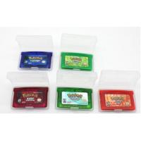 Buy cheap Cheaper Game for GBA :Pokemon Emerald ,fire red, ruby,sapphire,leef green mix order from Wholesalers