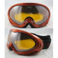 Buy cheap Double - Layer Face Foam Anti-fog Snow Custom Ski Goggles Stock With CE EN 174 Standards from wholesalers