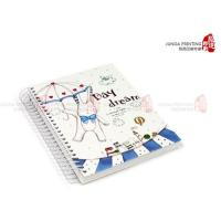 Buy cheap YO Ring Notebook Printing , Custom Printing Brochures , Color Notebook from Wholesalers