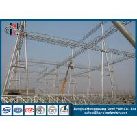 Quality Q345 Steel Structures for Transmission Line Project wholesale