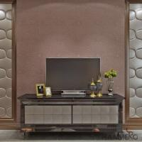 Buy cheap Removable Non - woven Silver grey Modern Style Wallpaper with Embossed Floral Pattern from wholesalers