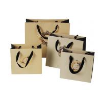 Buy cheap Custom Logo Printing Shopping Paper Bags With Rope Handles from wholesalers