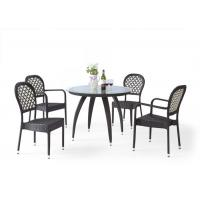 Buy cheap Claw Leg Table Outdoor Rattan Furniture Rattan Dining Set for Restuarant from wholesalers