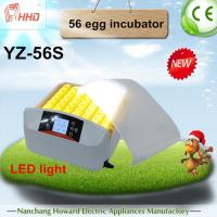Unprecedented Offer! HHD Full Automatic Mini Egg Incubator China/Poultry Hatchery for Sale YZ-56S