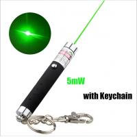 Quality 5mw Keychain Laser Pointer / Green Laser Keychain With Action Figure wholesale