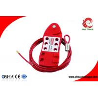 Buy cheap Economic Adjustable Stainless Steel Cable Security Lockout PC Body from wholesalers