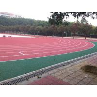 Buy cheap Anti - Shock Polyurethane Rubber Running Track Surface / Jogging Track Material from wholesalers
