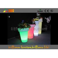 Buy cheap Wireless Remote Control LED Flower Pot PE In GRB / Blue from Wholesalers