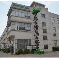 Quality DC Motor drive Self Propelled Scissor lift platform for tough terrain max 12m working height wholesale