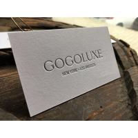 Professional Design And Print Business Cards , High Class Cotton Paper Business Cards